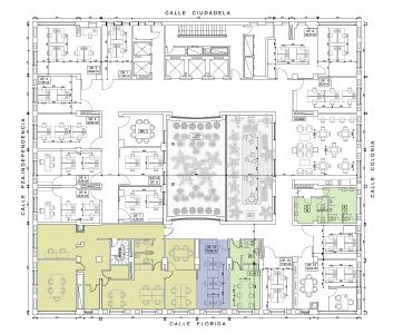 Plano de la oficina planta 2